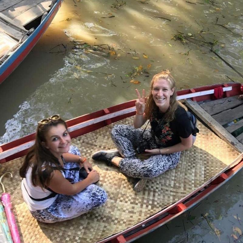 Natalie S in Cambodia
